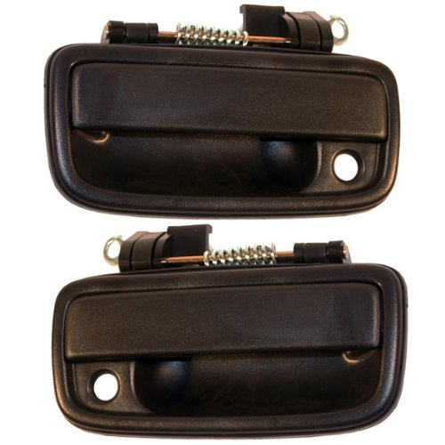 (Toyota Tacoma 95 - 04 Front Outside Door Handle Pair 69220 69210 35020)