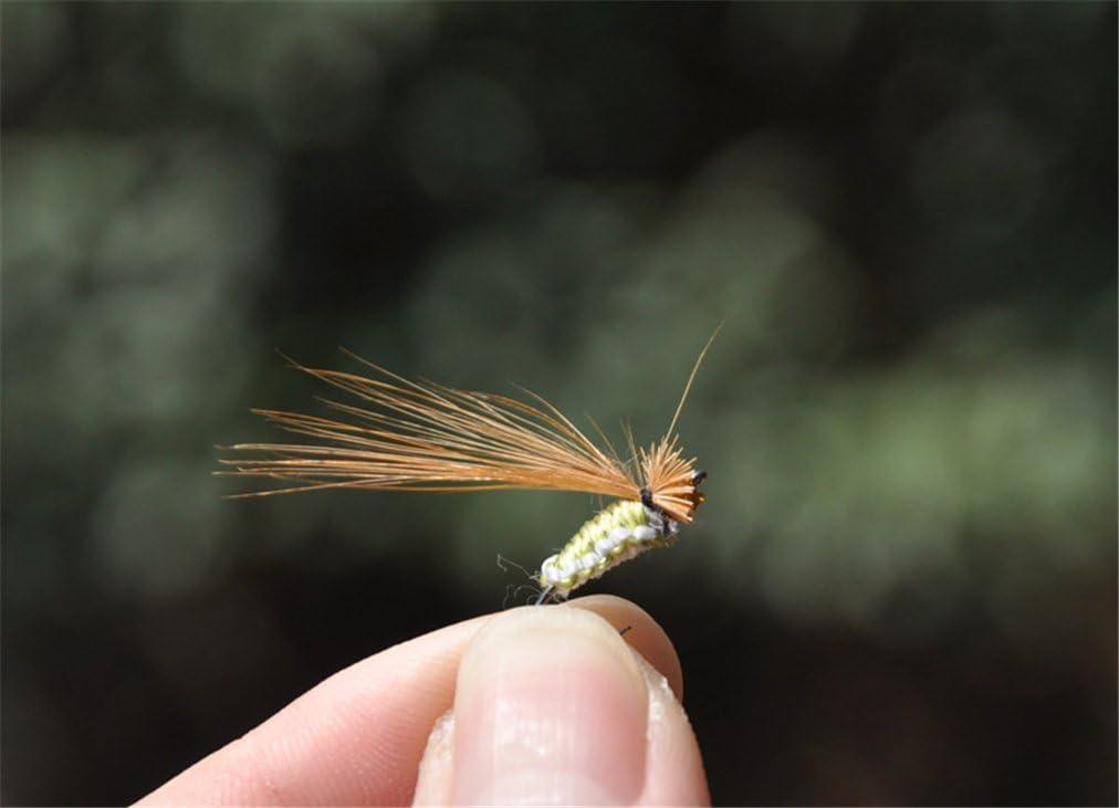 /Alta simulaci/ón Flies Peces cebo jascherry 40pcs pesca Lure Bionic ganchos/