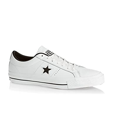 Converse Trainers - Converse One Star Shoes - White: Amazon.de ...