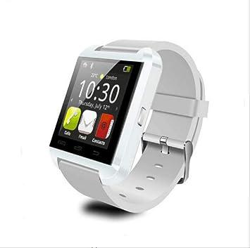 QSJWLKJ Smart Watch Smartwatch Clock Sync Notifier Soporte ...