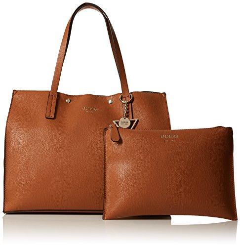 Shoppers Guess Mujer cognac De Bolsos Bags Y Marrón Hombro Hobo ZUrBnExSU