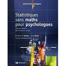 Statistiques sans maths psycho ouvertures psycho.