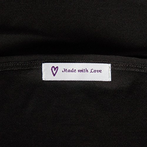 dbab91bf2671 Wunderlabel Made with Love Crafting Craft Art Fashion Woven Ribbon Ribbons  Tag for Clothing Sewing Sew on Clothes Garment Fabric Material Embroidered  ...