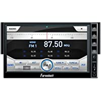 Farenheit F-721NX Ingenix GPS Navigation In-Dash Single DIN DVD AM/FM Receiver with 7-Inch Oversize LCD Screen and Bluetooth v2.1