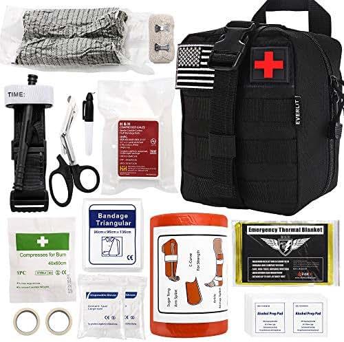 Everlit Emergency Survival Trauma Kit with Tourniquet 36