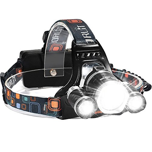 Led 4 Mode Headlamp Light Torch Camping Flashlight in US - 7