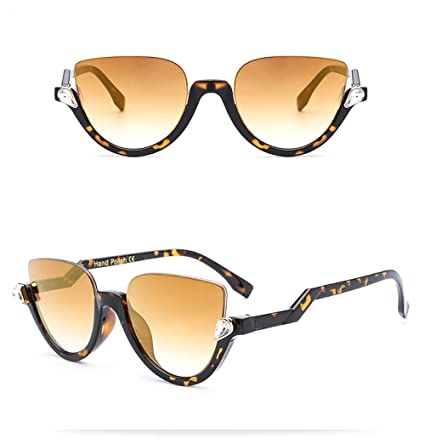 Liangliang Gafas De Sol De Medio Cuadro Ojos De Gato Gafas ...