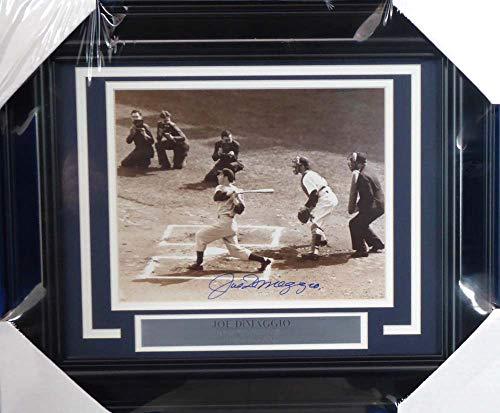 - Joe DiMaggio Autographed Framed 8x10 Photo New York Yankees Beckett BAS #A20719