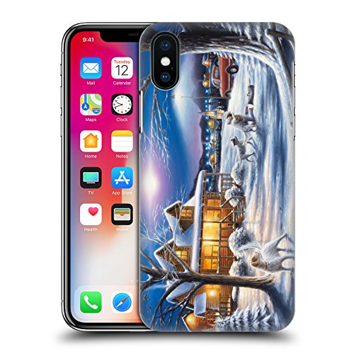 Ufficiale Chuck Black Bentornato a casa Cabina Cover Retro Rigida per Apple iPhone X