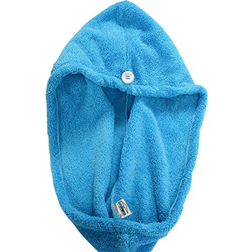 Microfiber Hair Towel Reviews: DearyHome Super Absorbent Hair Drying Towel, Thickened