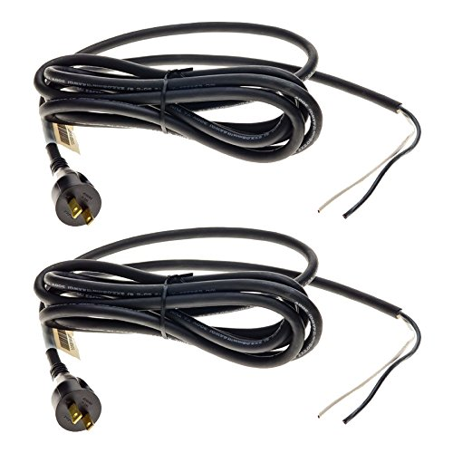 Dewalt DW359 Saw (2 Pack) Replacement 14 guage 10 foot 2 Prong Power Cord # 330079-98-2pk