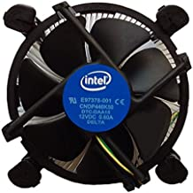 Intel Core i3 / i5 / i7 Socket 1156 / 1155 / 1151 / 1150 4-Pin Connector CPU Cooler With Copper Core Base & Aluminum Heatsink & 3.5-Inch Fan With Pre-Applied Thermal Paste (TS1)