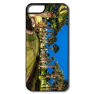 PTCY IPhone 5/5s Custom Funny Golfing Course Texas