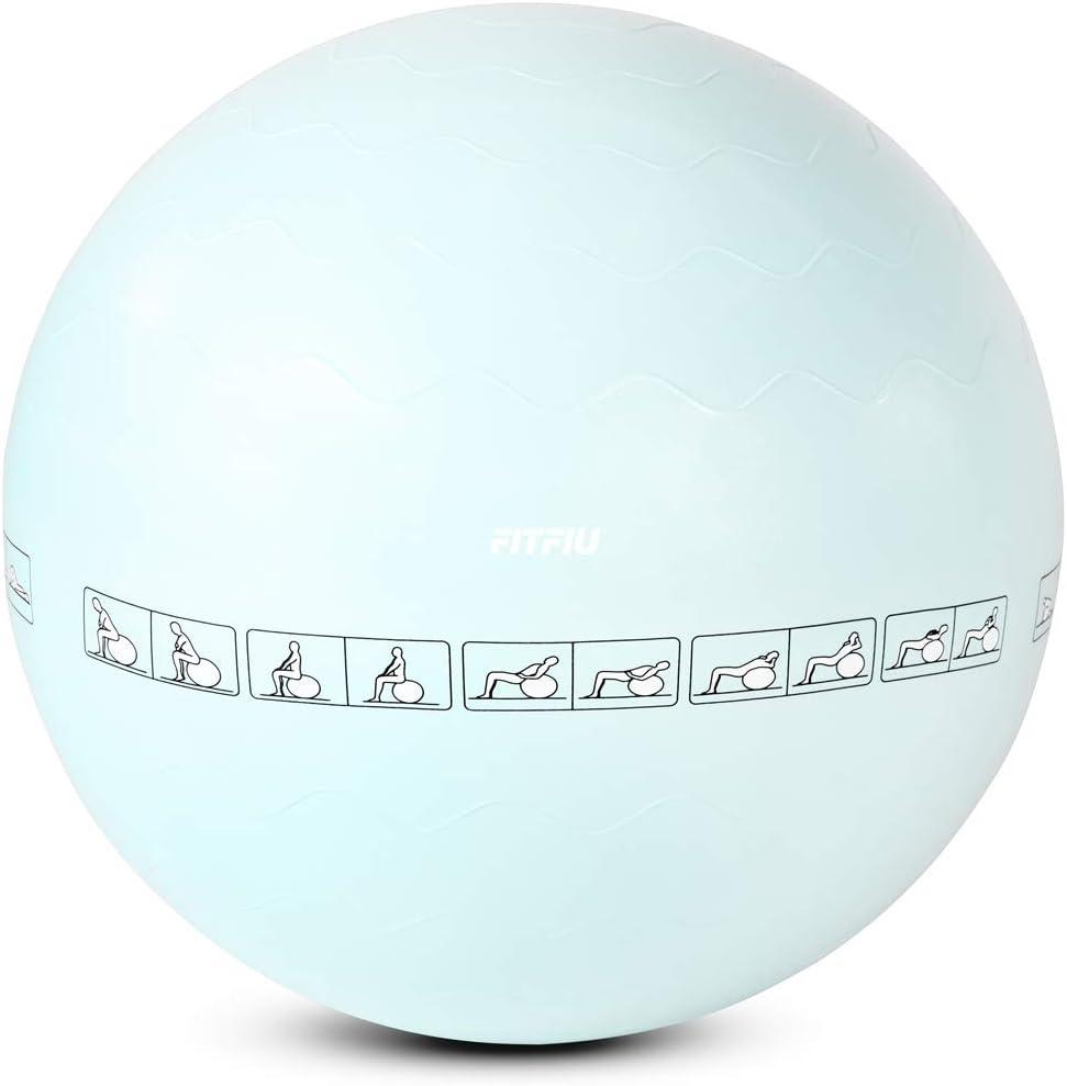 Fitfiu Lot de 6 Accessoires pour Yoga et Pilates Bleu 47,8 x 13,3 x 61,5 cm