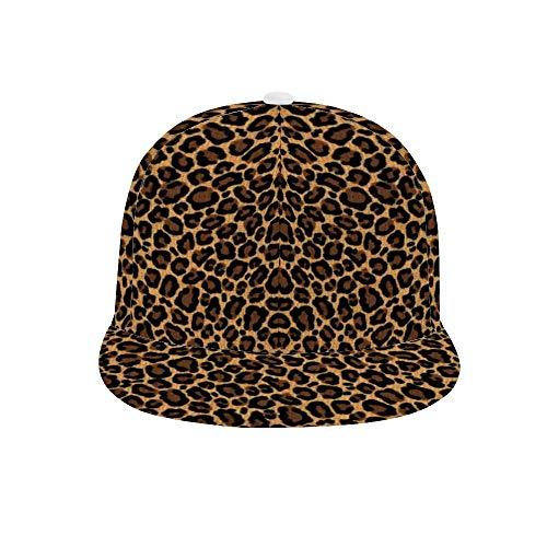 Unisex Graffiti Adjustable Baseball Cap Hip-hop Visor Sexy Retro Leopard Print Sun hat for Outdoor Polo Golf Cap]()