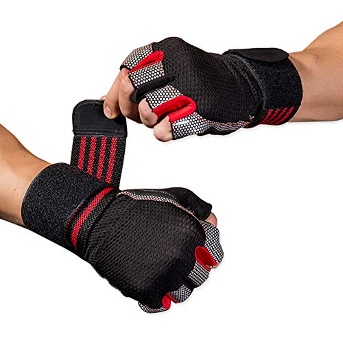 paissit Weight Gloves,Workout Glove,Training Gloves with Wrist Support for Fitness Exercise Women Men