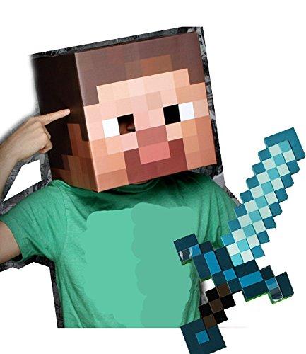 Minecraft Enderman Creeper Steve Generation Diamond Sword product image