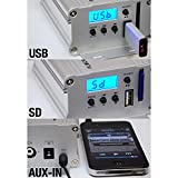 Motorcycle Speaker and Amplifier System - 100 Watt