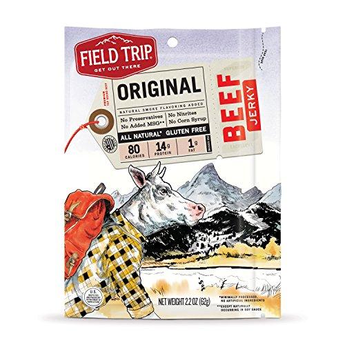 Field Trip Beef Jerky, Original, 2.2 Ounce