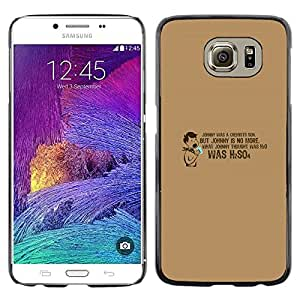 Stuss Case / Funda Carcasa protectora - Chemist'S Son H2So4 - Samsung Galaxy S6