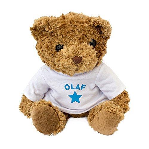 NEW OLAF Teddy Bear - Cute And Cuddly - Gift Present Birthday Xmas