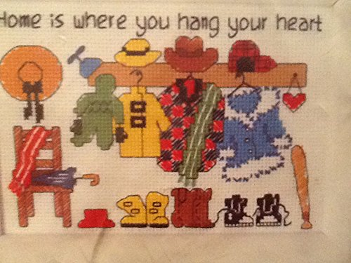 Kit Counted Stitch Jiffy Cross (Jiffy Counted Cross Stitch, Home Is Where)