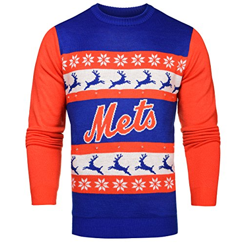 New York Mets Ugly Sweater, Mets Christmas Sweater, Ugly Mets Sweater