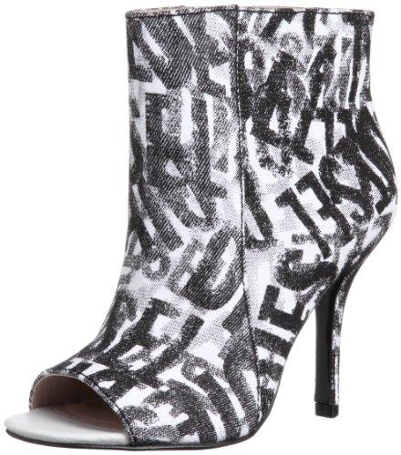 Diesel Damen Schuhe Stiefeletten Rapture Women Pumps High Heels Weiss/Schwarz