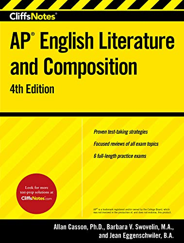 Pdf Test Preparation CliffsNotes AP English Literature and Composition, 4th Edition