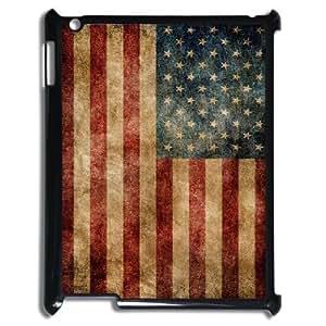 Retro American Flag ZLB526897 Custom Case for Ipad 2,3,4, Ipad 2,3,4 Case