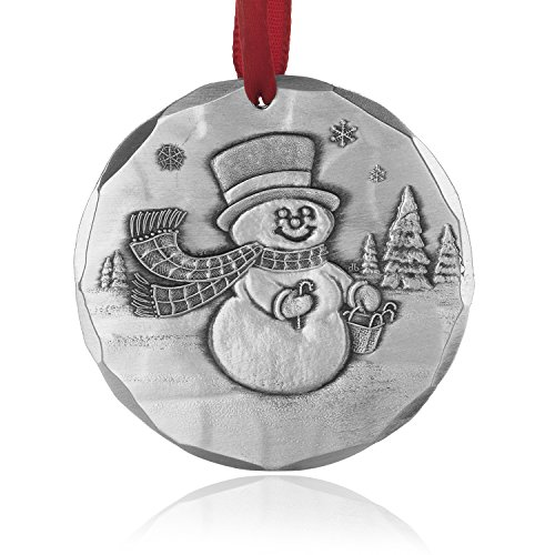 Wendell August Snowman Ornament, Handmade in the USA by Forge in Pennsylvania, Aluminum Christmas Ornament (Frosty the Snowman) (Frostys Ornament Favorite)