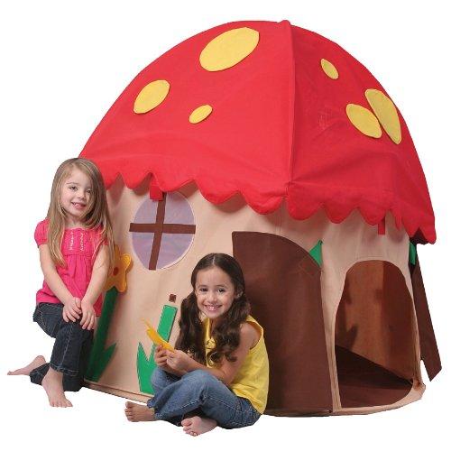 Bazoongi Play Structure Mushroom House ()