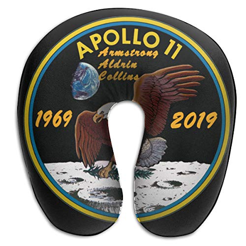 (Apollo 11 50th Anniversary U-Shaped Pillows Comfortable Neck Pillow Travel Neck Pillow)