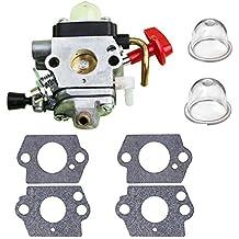Savior Carburetor C1Q-S174 with Primer Bulb Gasket for STIHL FS87 FS90 FS100 FS110 FS130 HL90 HL95 HL100 HT100 HT101 KM90 KM100 KM110 SP90 Trimmer Carb 4180-120-0610 4180-120-0611