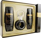 Bijan Black By Bijan For Women. Set-edt Spray 2.5-Ounces & Body Cream 3.3-Ounces & Body Polish 3.3-Ounces
