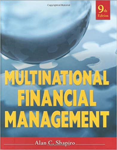 Amazon multinational financial management 9780470415016 alan amazon multinational financial management 9780470415016 alan c shapiro books fandeluxe Image collections