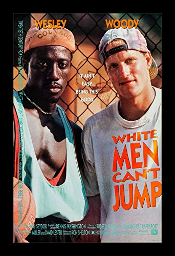 Wallspace 11x17 Framed Movie Poster - White Men Can't Jump