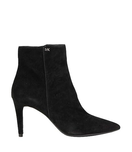 Michael By Michael Kors Mujer 40F8DOME5S001 Negro Cuero Botines: Amazon.es: Zapatos y complementos