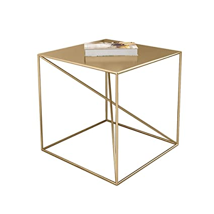 Prime Amazon Com Square Side Table End Table All Metal Material Dailytribune Chair Design For Home Dailytribuneorg