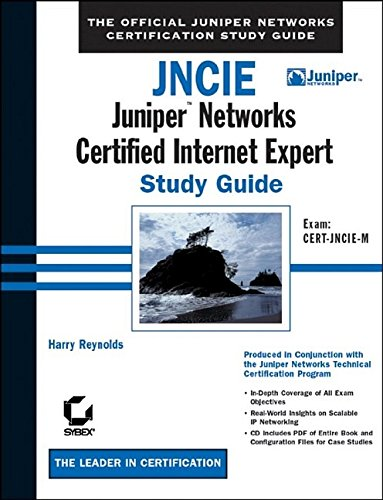 JNCIE: Juniper Networks Certified Internet Expert Study Guide-cover