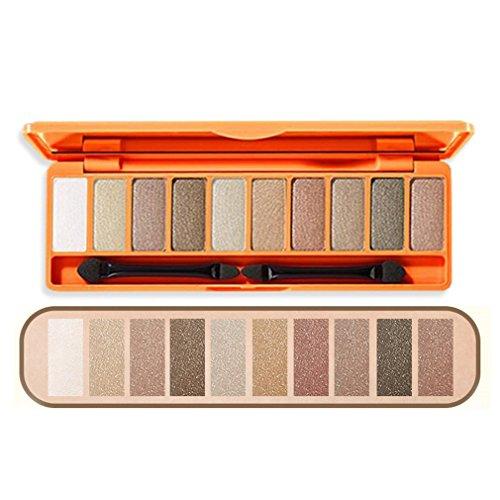 Eyeshadow Palette 10 Colors Matte Eyeshadow Naked Palette Glitter 3-1