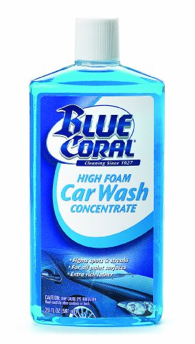 Blue Coral 220064 High Foam Car Wash Concentrate, 20 -