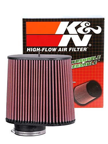 K&N RC-5102 High Performance Universal Clamp-on Chrome Air Filter