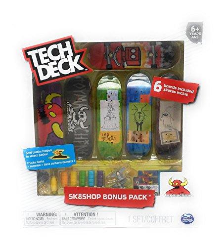 Tech Deck Sk8shop Bonus Pack - Toy Machine - 2017 Release