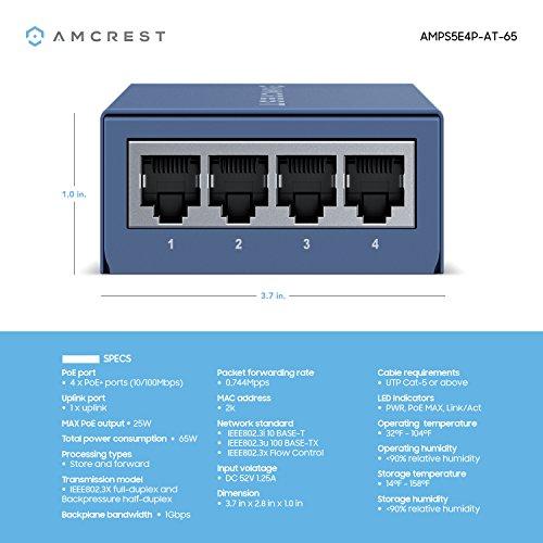 Poe network switch 4 port ☆ BEST VALUE ☆ Top Picks
