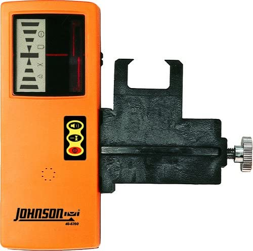 Johnson Level Tool Pro 40-6700 One-Sided Laser Detector with Clamp