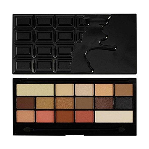 Makeup Revolution Eyeshadow Palette, Chocolate Vice