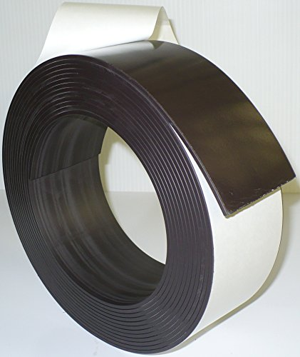 3'' X 25' - 120 mil Adhesive Magnetic Tape Strip Roll by Discount Magnets