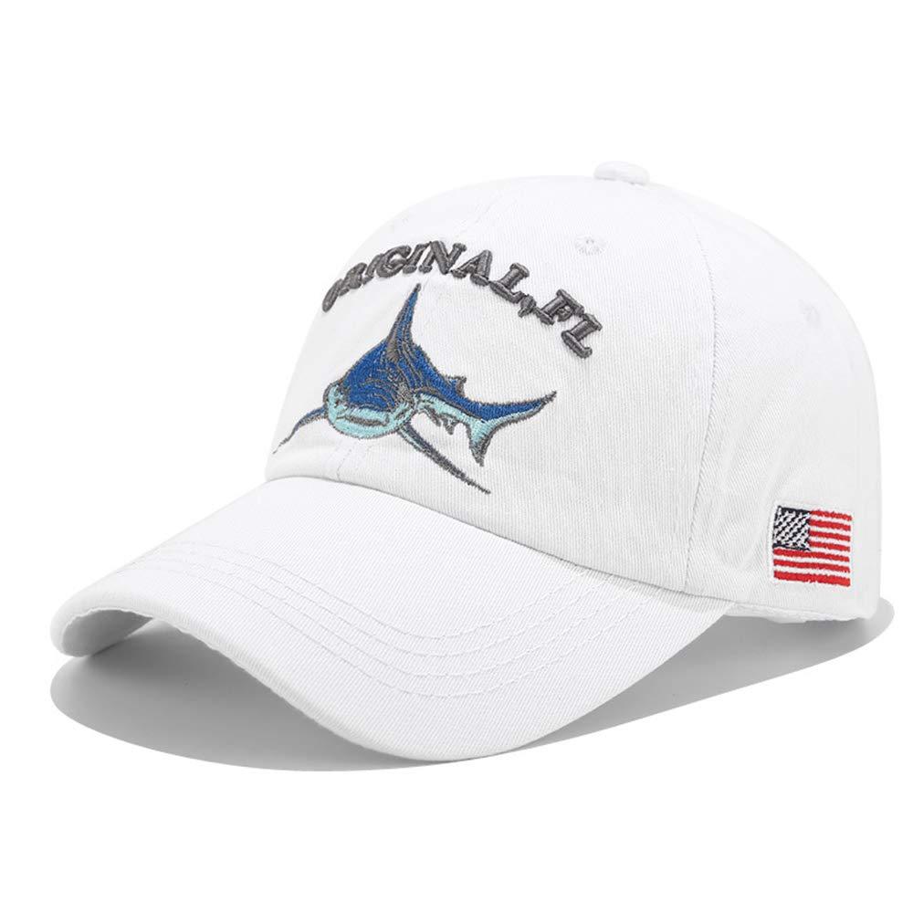 zhuzhuwen Denim tiburón Gorra de béisbol Moda Femenina Exterior ...