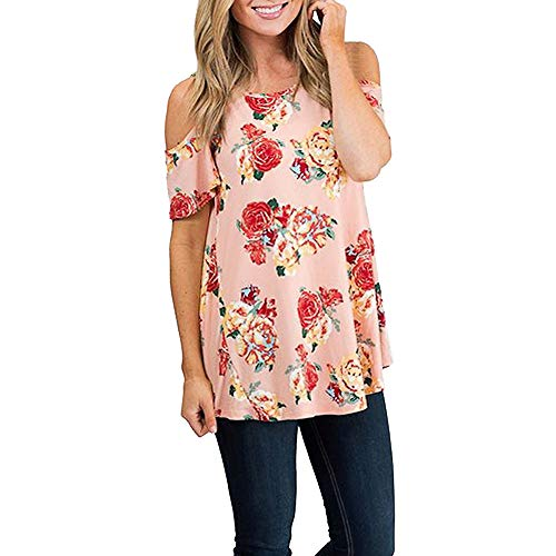(Long Sleeve Blouse Tops Shirt Summer Blouse Deep V-Neck Low Cut Cute Color Tops Flowy Camisole for Women Pink)